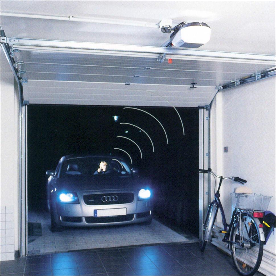 Automata garázskapu távirányítással