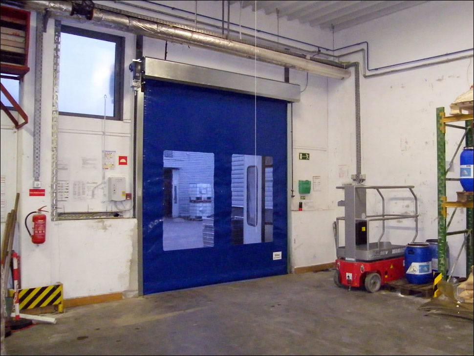 DITEC SMART RESET ipari gyorskapu a Henkel körösladányi üzemében