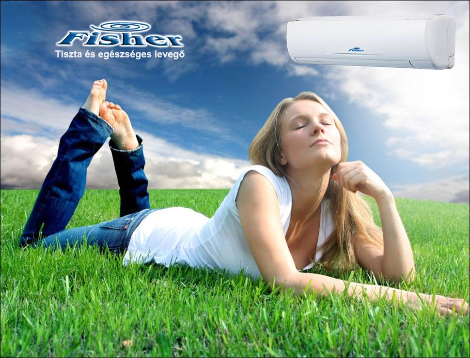 Fisher inverteres klíma tiszta és egészséges levegő